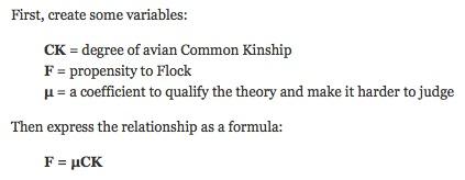 flocking formula