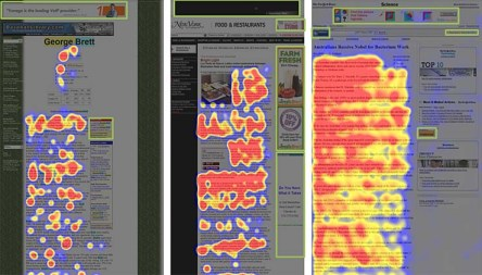Eye tracking studies