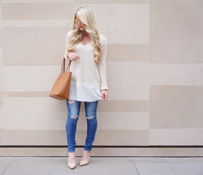 A Touch of Pink Blog Katelyn Jones Nordstrom Cute Winter Outfit Nordstrom