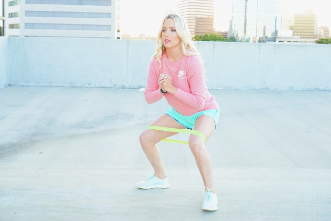 Katelyn Jones A Touch of Pink Blog Fit Simplify Resistance Bands