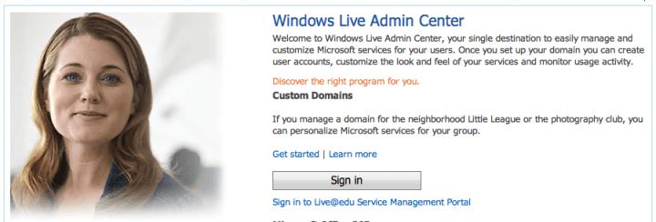 domains.live.com