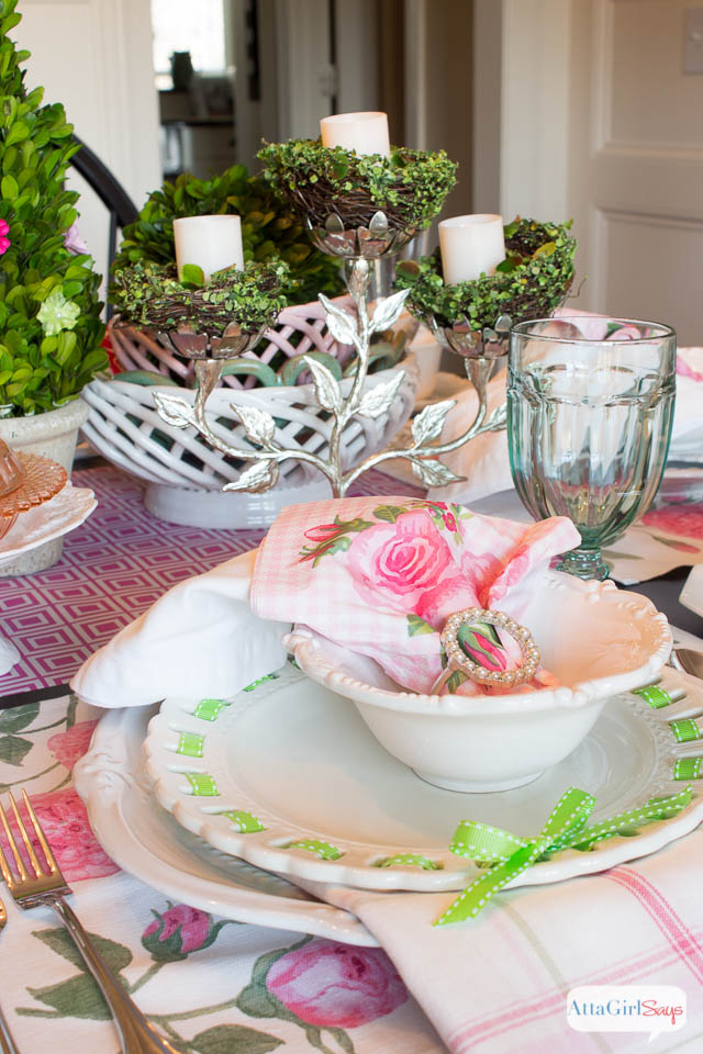 House Decorating Ideas Spring. Spring Table Setting Ideas Pink And ...