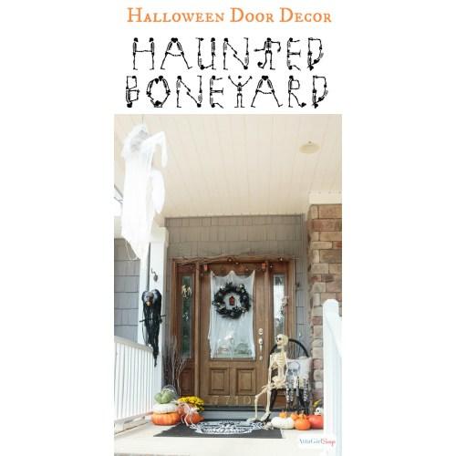 Medium Crop Of Halloween Door Decorations