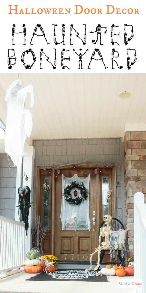 Medium Of Halloween Door Decorations