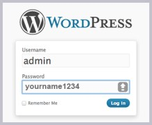 Fig1WordPressLogin