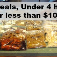 Freezer Meals on Today's Prices