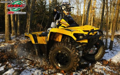 Rick Cecco 2010 Can-Am Outlander 800R -