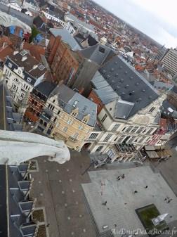 Place St Bavon depuis le beffroi