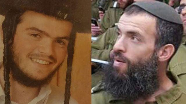 Aharon Banita Bennett (21) und Rabbi Nehemia Lavi (41) . Foto zVg