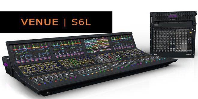 VENUE S6L – Saiba como é a nova console da AVID