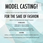 Open casting call for models – Fashion Show in Chicago