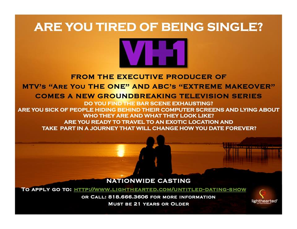 casting call dating show Are you ready to finally meet your perfect match what better place to find that special someone than on tv from pyar and tv asia, click flirt love is.