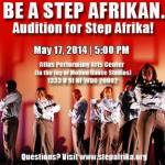 DC Auditions for Step Afrika Dance Company