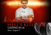 Master Chef Casting Call for 2015 for L.A. and NOLA