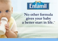Baby auditions for Enfamil commercial