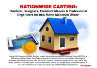Nationwide casting call for home renovation experts