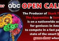 ABC game show open call