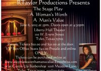 A Woman's Worth A Man's Value stage play in Houston