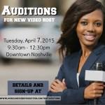 Model / Actress to host Video in Nashville, TN