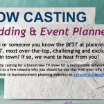 Cable Network Show Seeks Over The Top Event Planners