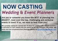 Wedding and Event planners for cable show