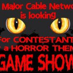 New Horror Themed Game Show Casting Horror Lovers in L.A.