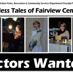 """Actors for The New Britain Parks & Recreation Production of """"Timeless Tales of Fairview Cemetery"""" – CT"""