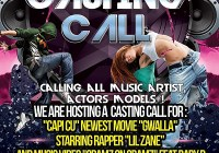 Hip hop casting call for music video