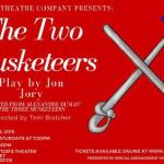 Auditions in San Diego for The Two Musketeers!