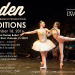 Dancer Auditions in Orlando for Eden – A Modern Retelling of the Story of Eve, Ballet