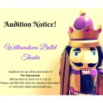 "Williamstown NJ Ballet Auditions for ""The Nutcracker"""