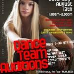 Hip Hop Dance Team Auditions in NYC