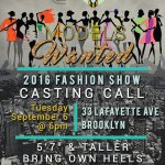 Casting Models and Plus Size Models for NYC Fashion Show