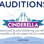 "Open auditions for dancers ages 6 and up for ""Cinderella"" in Chicago, Illinois"