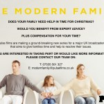 UK Reality Show Casting UK Families That Need Some Christmas Time Help