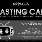 Casting Actors in Greenville, SC for TV Commercial Roles