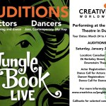 Auditions in Toronto, Ontario, Canada for Jungle Book Live Tour