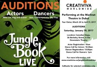 Jungle Book Live auditions