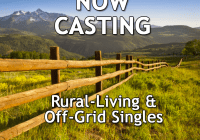 Rural off the grid dating reality series casting