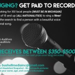 Teen Singer Auditions in Michigan
