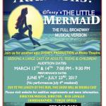 "Auditions for Child, Teen and Adult Actors in Pompton Lakes, NJ for ""The Little Mermaid"""
