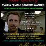 Dancer Auditions in Los Angeles for Goldie's 1940′s Speakeasy Style Event