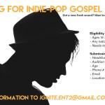 Ignite Entertainment Casting indie-pop gospel artists in Michigan / Ohio