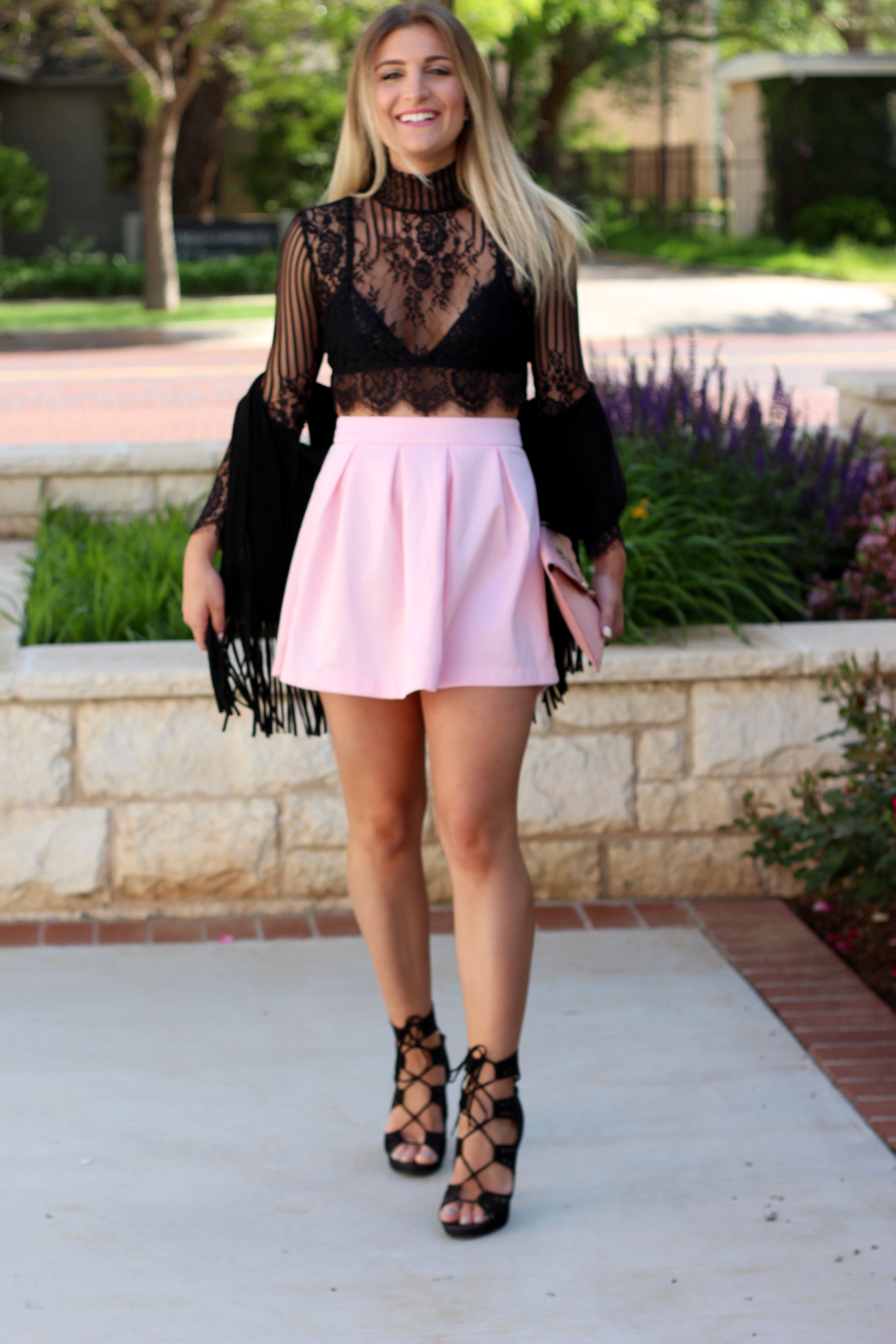 girly outfit for a girls day out