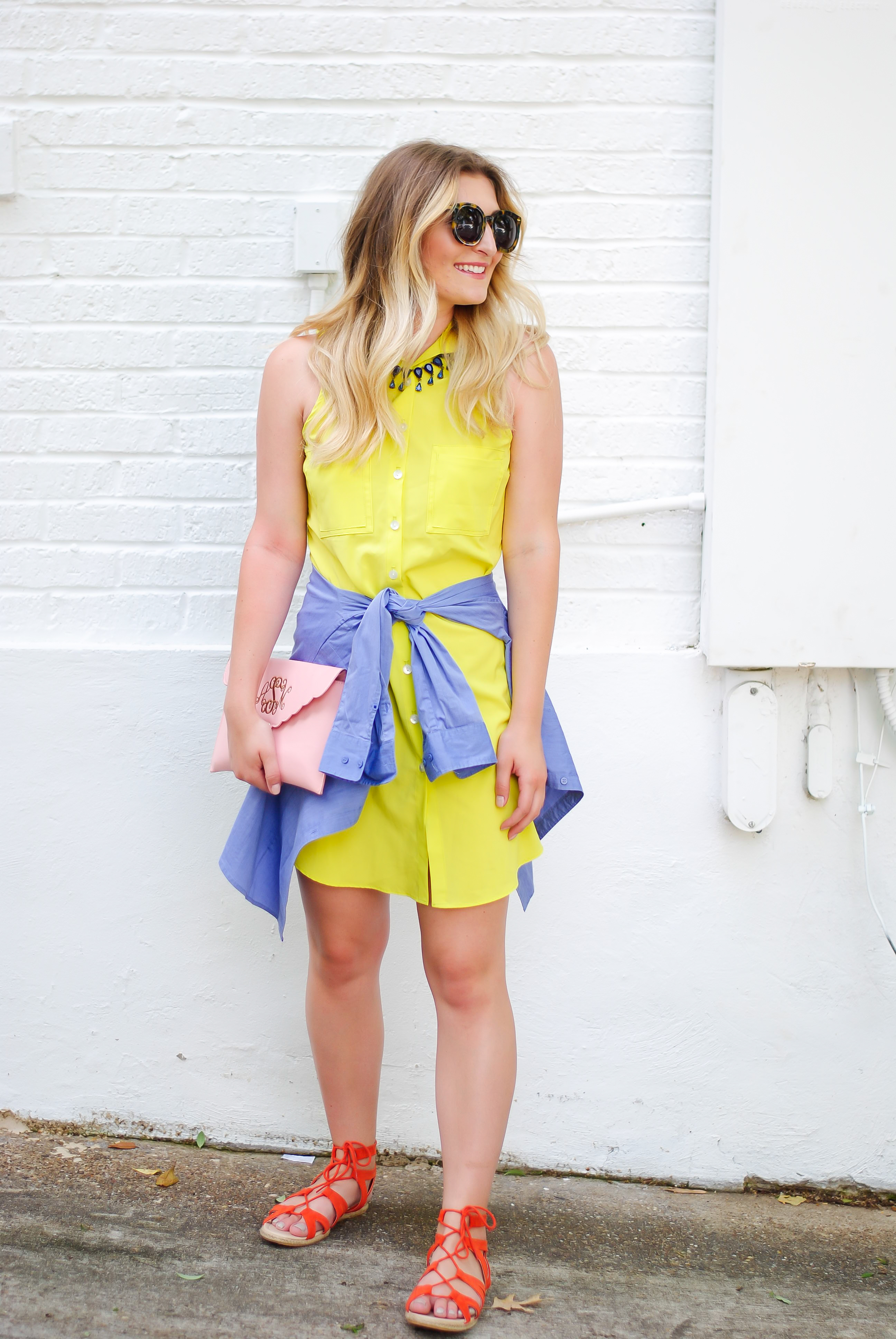 bright and colorful business look | Audrey Madison Stowe Blog