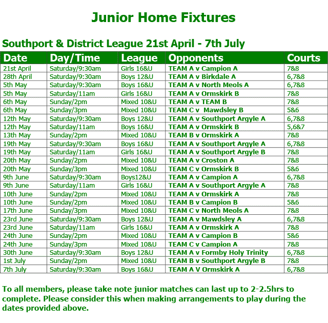 altc-junior-league-home-fixtures-2018