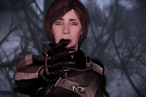 Among other notable features, Mass Effect 3 contains the worse dream sequences in video game history.