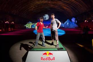 red bull murals hero's journey lumenal code portrait