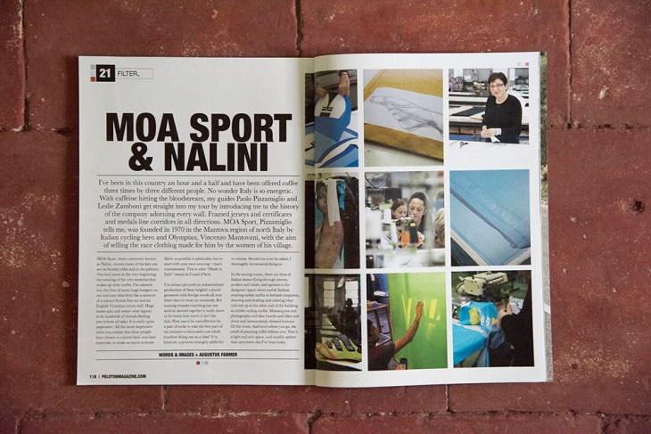 MOA Nalini. Issue 21, Peloton Magazine