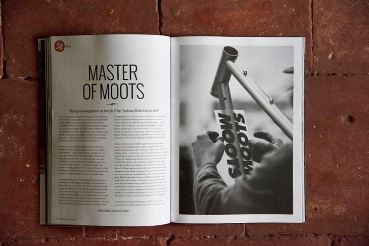 Moots. Issue 58 Peloton Magazine